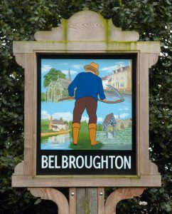 Belbroughton Sign